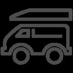 Icono Van de viaje